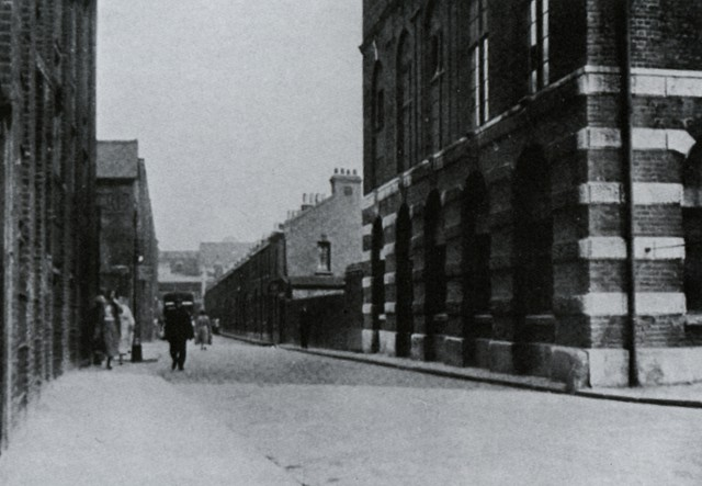 A view looking East along Durward Street.