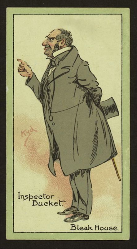 An image of Inspector Bucket from Charles Dickens Bleak House.