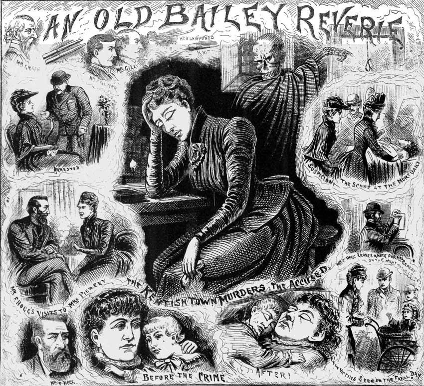 Mary Pearcey, haunted by memories of her crime.